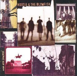 Hootie & The Blowfish - Cracked Rear View CD (album) cover