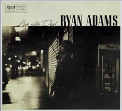 Ryan Adams - Live After Deaf CD (album) cover