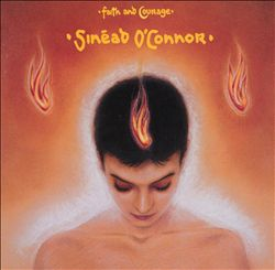 SinÉad O'connor - Faith And Courage CD (album) cover