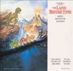 James Horner - The Land Before Time CD (album) cover