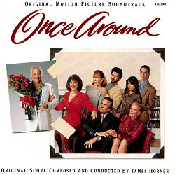 James Horner - Once Around CD (album) cover