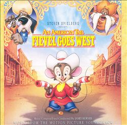 James Horner - American Tail 2: Fievel Goes West CD (album) cover