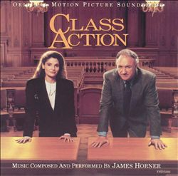 James Horner - Class Action CD (album) cover