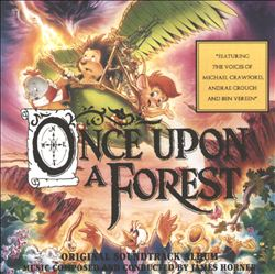 James Horner - Once Upon A Forest CD (album) cover