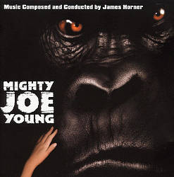 James Horner - Mighty Joe Young CD (album) cover