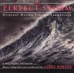 James Horner - The Perfect Storm CD (album) cover