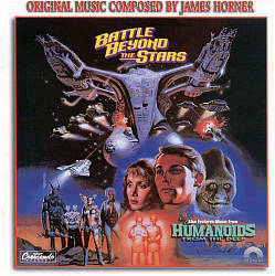 James Horner - Battle Beyond The Stars / Humanoids From The Deep CD (album) cover