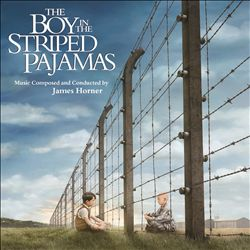 James Horner - The Boy In The Striped Pajamas CD (album) cover