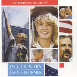 James Horner - In Country CD (album) cover