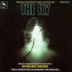 Howard Shore - The Fly CD (album) cover