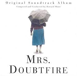 Howard Shore - Mrs. Doubtfire CD (album) cover