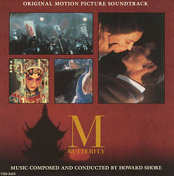 Howard Shore - M Butterfly CD (album) cover