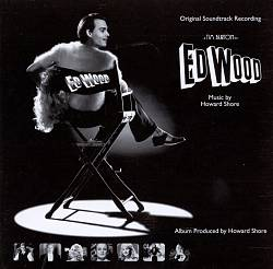 Howard Shore - Ed Wood CD (album) cover