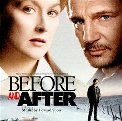 Howard Shore - Before And After CD (album) cover