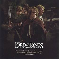 Howard Shore - The Lord Of The Rings: The Fellowship Of The Ring CD (album) cover