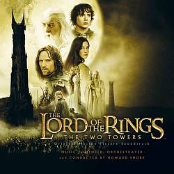 Howard Shore - The Lord Of The Rings: The Two Towers CD (album) cover