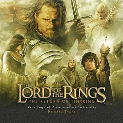 Howard Shore - The Lord Of The Rings: The Return Of The King CD (album) cover