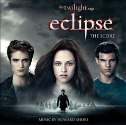 Howard Shore - The Twilight Saga: Eclipse - The Score CD (album) cover