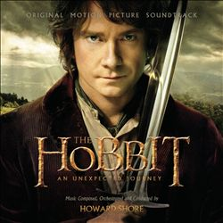 HOWARD SHORE - The Hobbit: An Unexpected Journey CD album cover