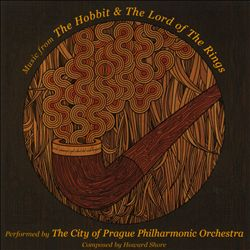 HOWARD SHORE - Music From The Hobbit & The Lord Of The Rings CD album cover