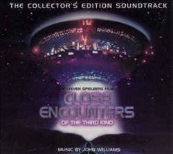 JOHN WILLIAMS - Close Encounters Of The Third Kind CD album cover