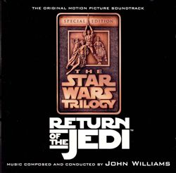 JOHN WILLIAMS - Star Wars: Return Of The Jedi [remastered Special Edition] CD album cover