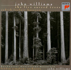 John Williams - The Five Sacred Trees CD (album) cover