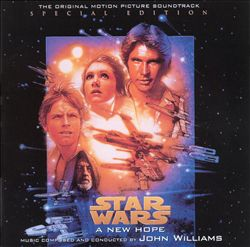 John Williams - Star Wars Episode Iv: A New Hope CD (album) cover