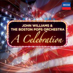 John Williams A Celebration CD album cover