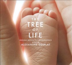 ALEXANDRE DESPLAT - The Tree Of Life CD album cover