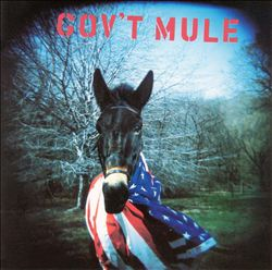 Gov't Mule - Gov't Mule CD (album) cover