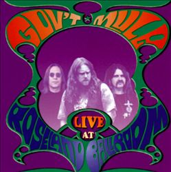Gov't Mule - Live At Roseland Ballroom CD (album) cover