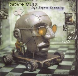 Gov't Mule - Life Before Insanity CD (album) cover