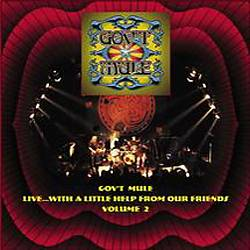 Gov't Mule - Live...with A Little Help From Our Friends, Vol. 2 CD (album) cover