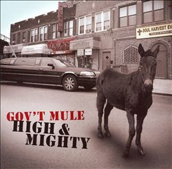 Gov't Mule - High & Mighty CD (album) cover