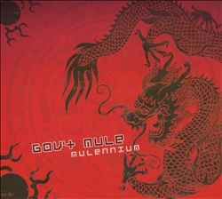 Gov't Mule - Mulennium (live At The Roxy, Atlanta Ga 31 Dec 1999) CD (album) cover