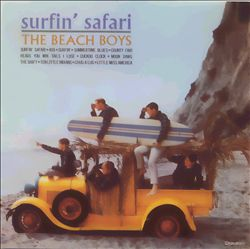 The Beach Boys - Surfin' Safari CD (album) cover