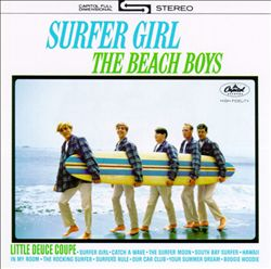 The Beach Boys - Surfer Girl CD (album) cover