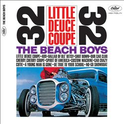 The Beach Boys - Little Deuce Coupe CD (album) cover