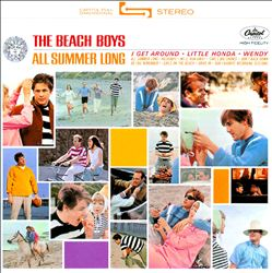 The Beach Boys - All Summer Long CD (album) cover