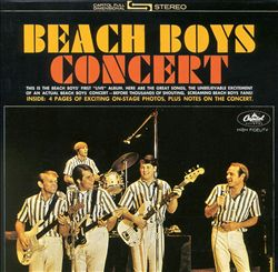 The Beach Boys - Concert CD (album) cover
