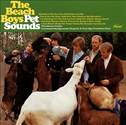 THE BEACH BOYS - Pet Sounds CD album cover