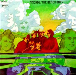 The Beach Boys - Friends CD (album) cover