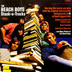 The Beach Boys - Stack-o-tracks CD (album) cover