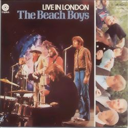 The Beach Boys - Live In London CD (album) cover