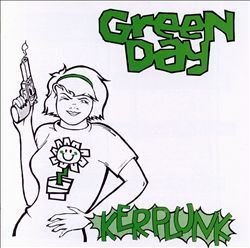 Green Day - Kerplunk! CD (album) cover