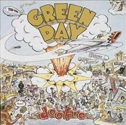 Green Day - Dookie CD (album) cover