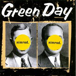 Green Day - Nimrod CD (album) cover