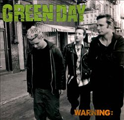 Green Day - Warning CD (album) cover
