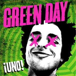 Green Day - ¡uno! CD (album) cover